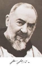 Immaginetta Padre Pio
