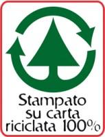 libro su carta riciclata