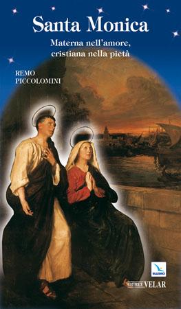 biografia santa monica di piccolomini