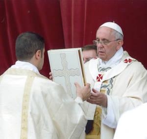 Evangeliario di Papa Francesco