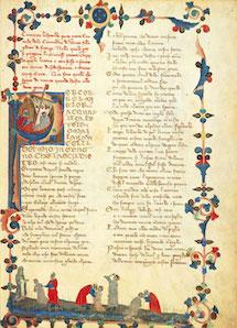 Divina Commedia edizione codice trivulziano
