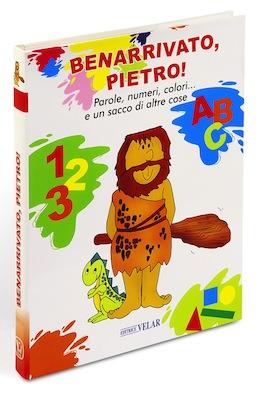 libro per bambini sui colori e numeri