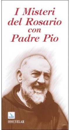 libro di preghiere i misteri del rosario con padre pio