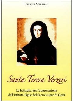 biografia santa teresa verzeri, lucetta scaraffia