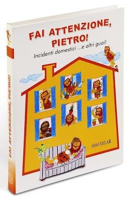 libro per bambini sugli incidenti domestici