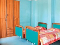 una delle camere da letto