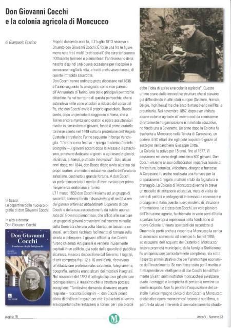 recensione su Don Giovanni Cocchi