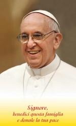 Benedizione delle Famiglia con Papa Francesco