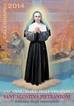 Calendario 2014 Sant'Agostina Pietrantoni Patrona degli Infermi