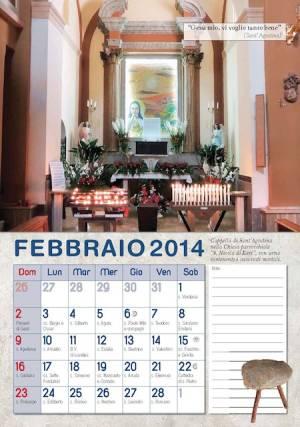 Calendario 2014 Sant'Agostina Pietrantoni