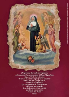 Sant'Agostina Pietrantoni Patrona degli Infermi