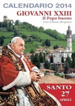 Calendario 2014 Giovanni XIII