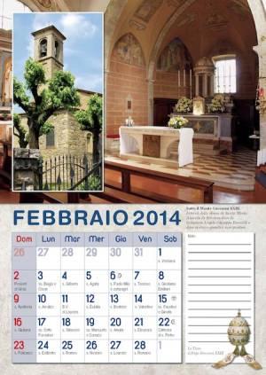 Calendario con Papa 2014