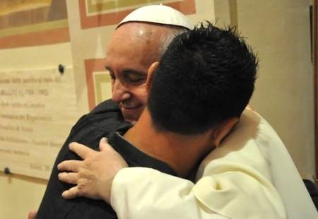 Papa Francesco al Serafico di Assisi