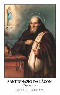 Sant'Ignazio da Laconi immaginetta
