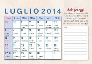 Calendario tascabile 2014 Papa Giovanni XIII