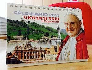 Calendario da tavolo 2014 Papa