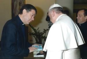 udienza con Papa Francesco Luigi Ginami