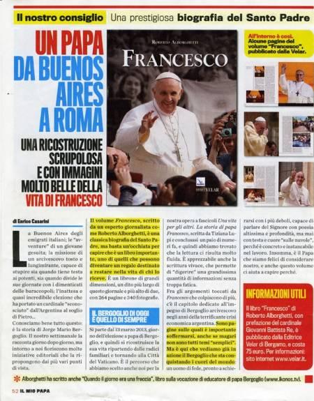 Una prestigiosa biografia del Santo Padre