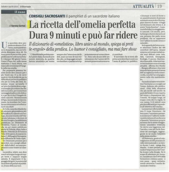 omiletica Il GIornale (small)