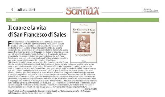 Articolo Scintilla nov. 2015