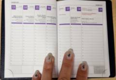 Interno agenda formato pocket