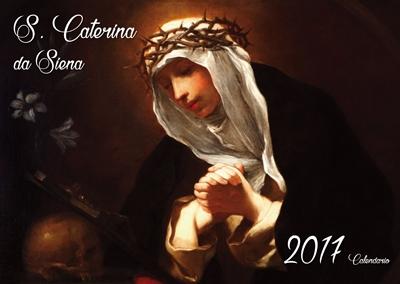 Calendario Santa Caterina da Siena 2017